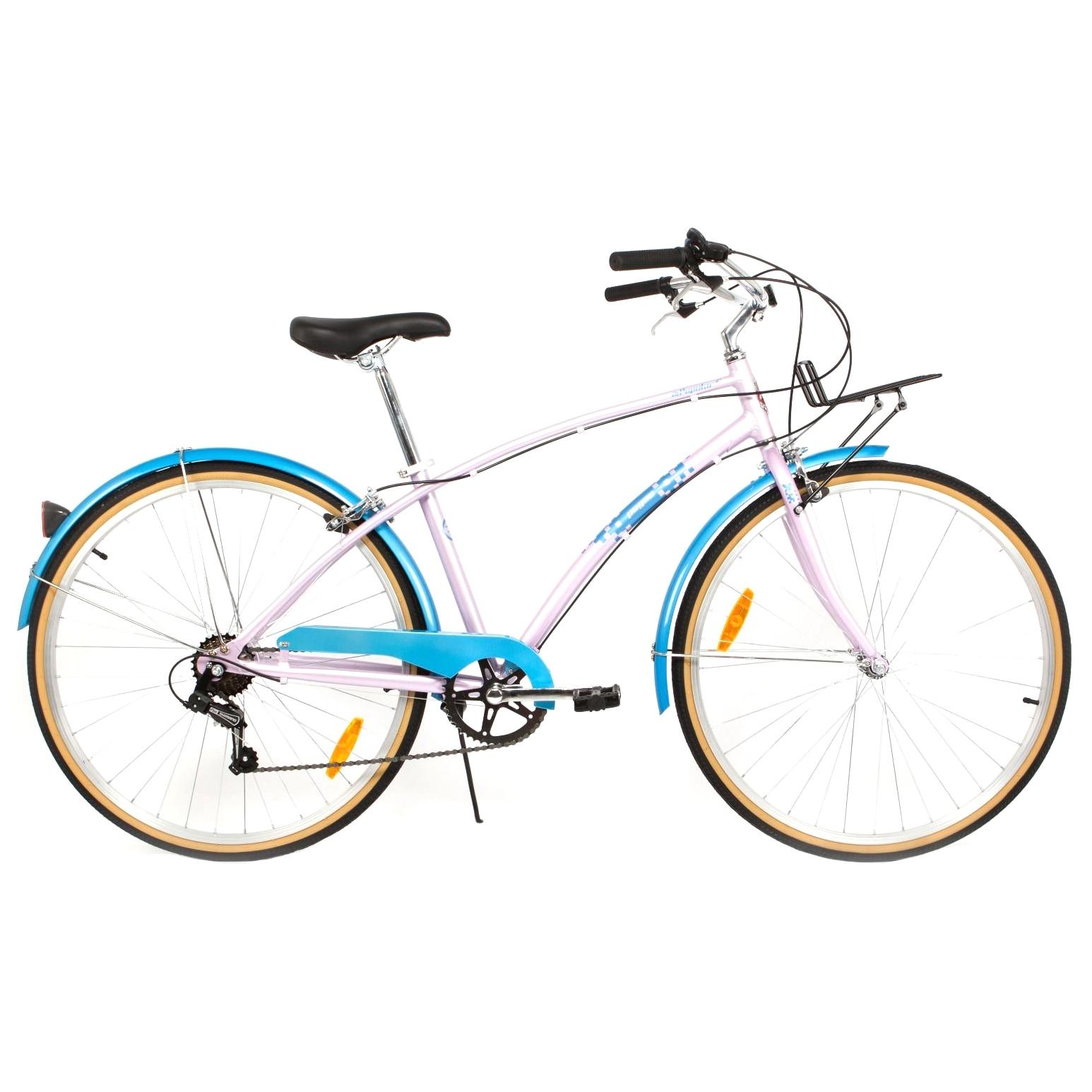 "Fotografie Bicicleta Pegas Popular Cadru Al, 16"" 7S, Roz Bujor"
