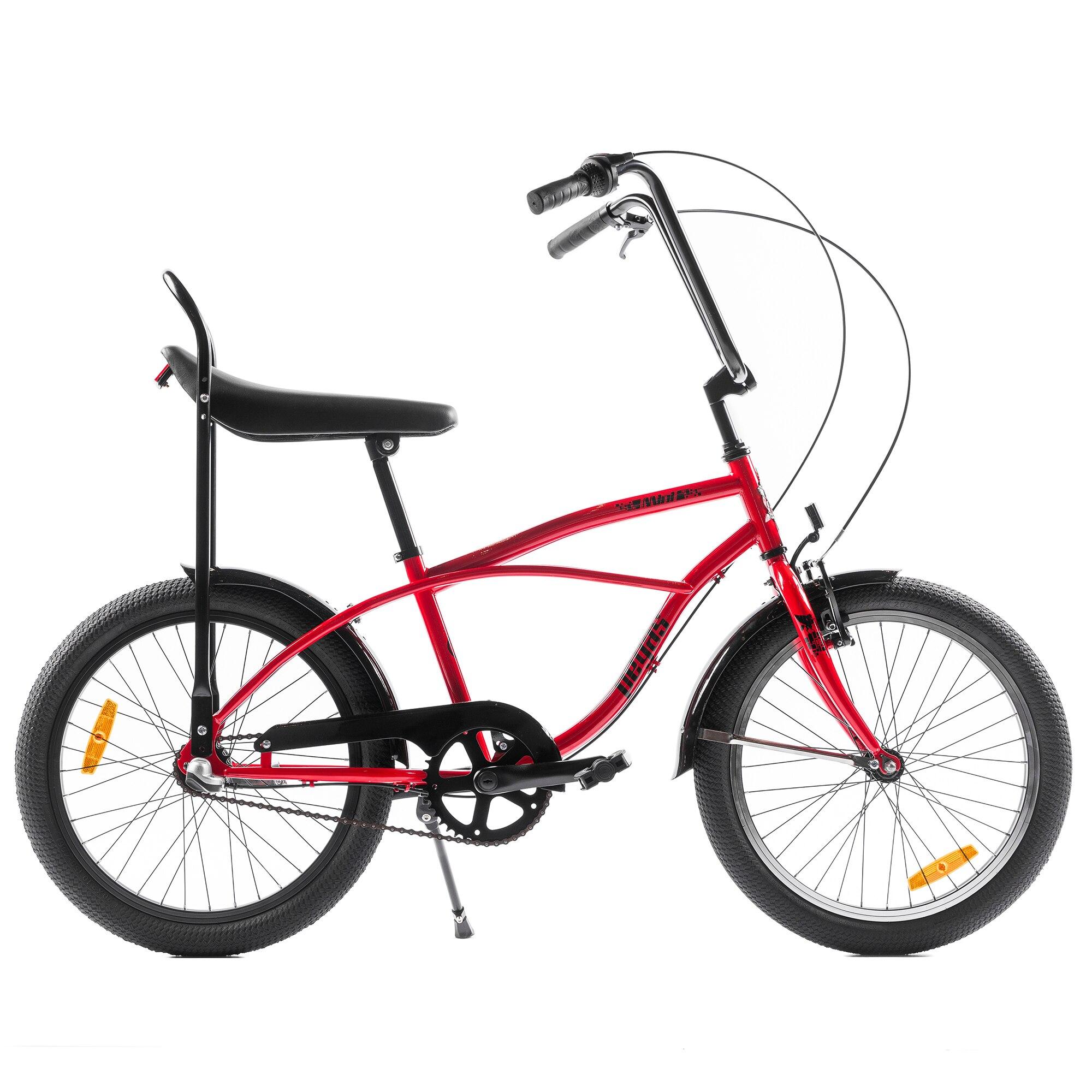 Fotografie Bicicleta Pegas Strada Mini, 3S, Rosu Bomboana