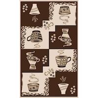 covor bucatarie coffee