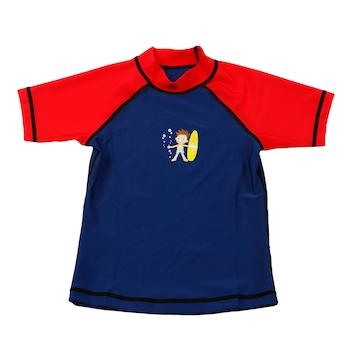 Детска тениска Kondition, Аnti-UV, UPF 50+, Възраст 6 години, Синя/Червена
