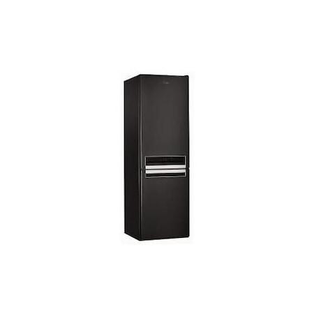Хладилник с фризер Whirlpool BSNF 8421 K, 319 л, Калс A+, 6th Sense, NoFrost, H 188.8, Черен