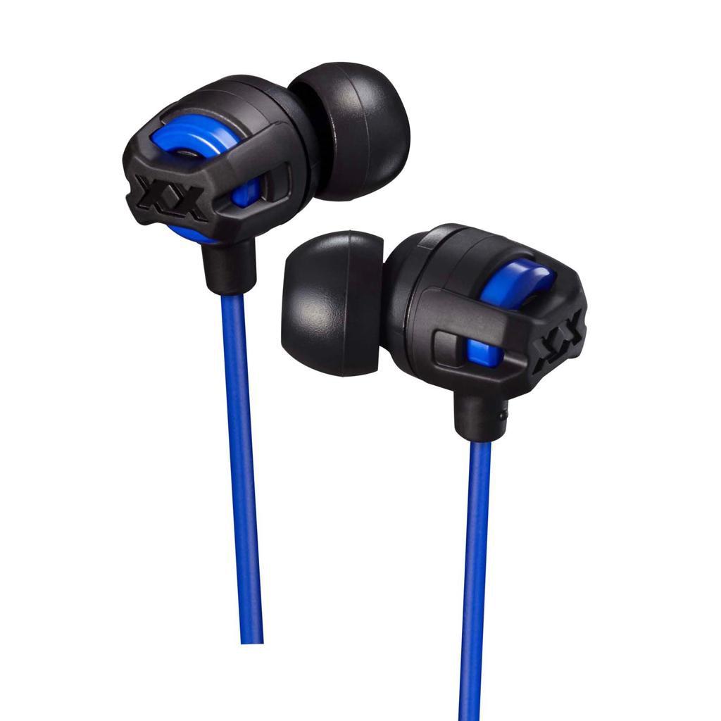 Fotografie Casti Audio In Ear JVC HA-FX103M-AE, Cu fir, Albastru