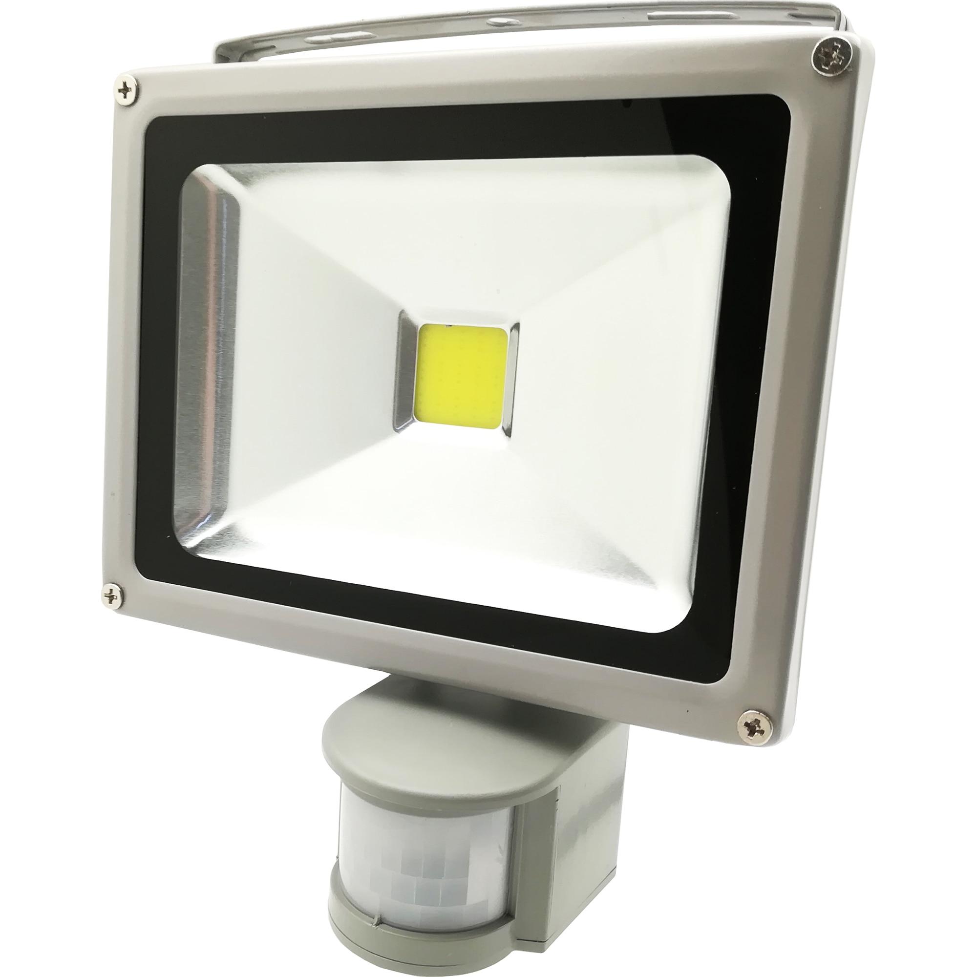 Fotografie Proiector LED cu Senzor Ultra Bright, 30W, 6500K, IP65