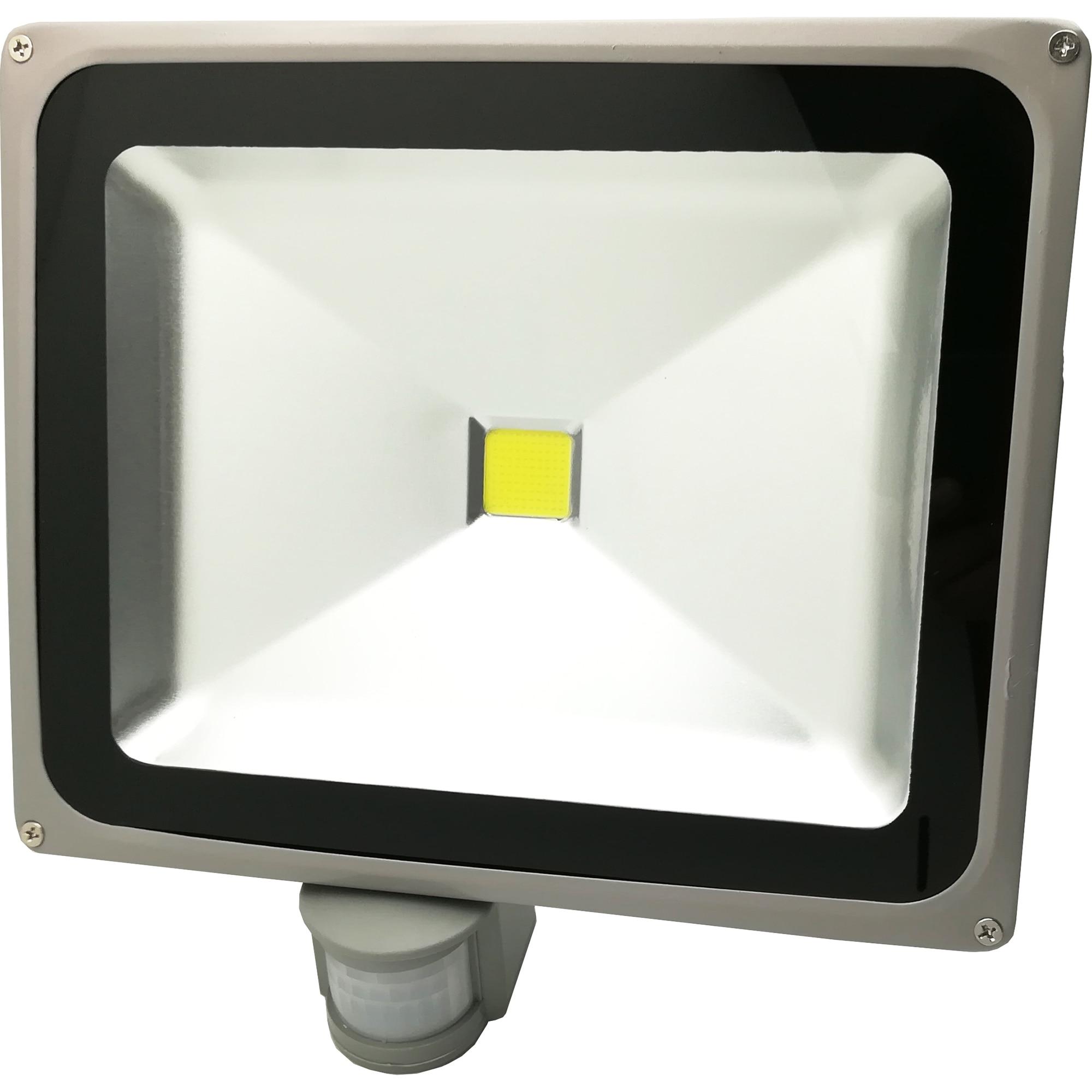 Fotografie Proiector LED cu Senzor Ultra Bright, 50W, 6500K, IP65