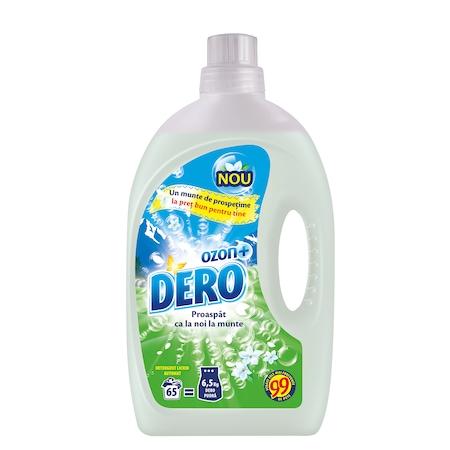 Detergent lichid Dero Ozon Plus 4.2L 65w, 65 spalari