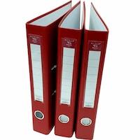 Set 3 Biblioraft, Pigna, PP, 50mm, Rado, Rosu