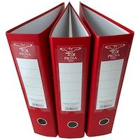 Set 3 Biblioraft, Pigna, PP, 75mm, Rado, Rosu
