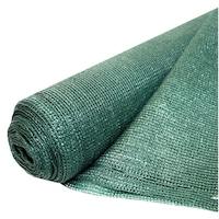 EVOTOOLS Árnyékoló háló, HDPE UV, 2 szín, 2 m széles, 10 m hosszú, 95%-nyi árnyékolási lehetőséget biztosít, UV védelem, Zöld