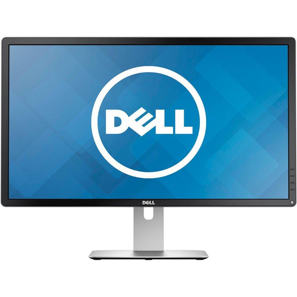 """Fotografie Monitor LED Dell, 23.8"""", Wide, 4K Ultra HD, DisplayPort, HDMI, Negru, P2415Q"""
