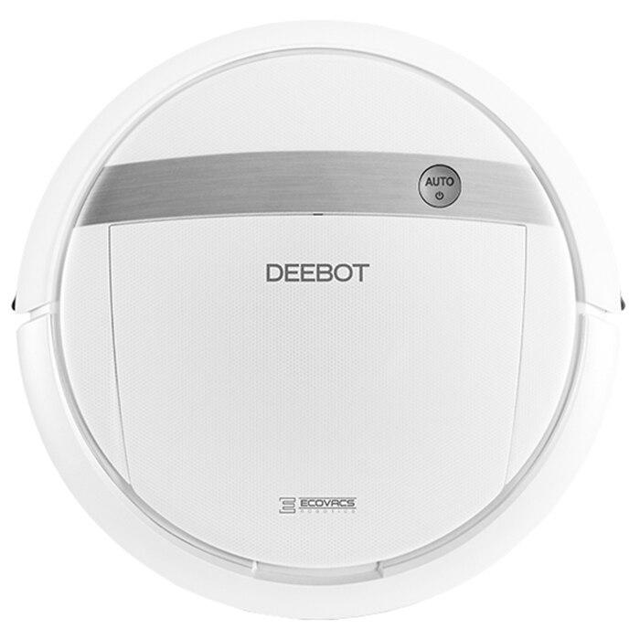 Fotografie Robot de aspirare DEBOOT Ecovacs M88, 20 W, Autonomie 90 Min, Baterie reincarcabila, Smart Motion, Telecomanda, Alb