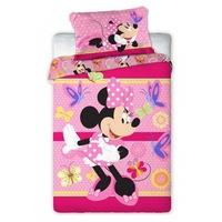 Disney Minnie ovis ágyneműhuzat pillangó 100x135cm 40x60cm