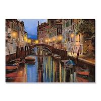 Картинa Канава Artfoyer - Венеция All'alba, 75 x 100см