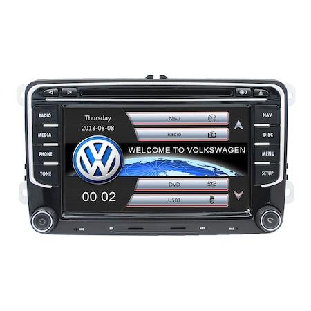 Navigatie VW Golf 5 6 Passat B6 B7 CC Tiguan Jetta Eos Polo Sharan Carkit Usb Mirrorlink + Camera Marsarier Cadou NAVD-723V