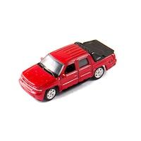 Welly Chevrolet Avalanche 2002 bordó kisautó, 1:60, 64