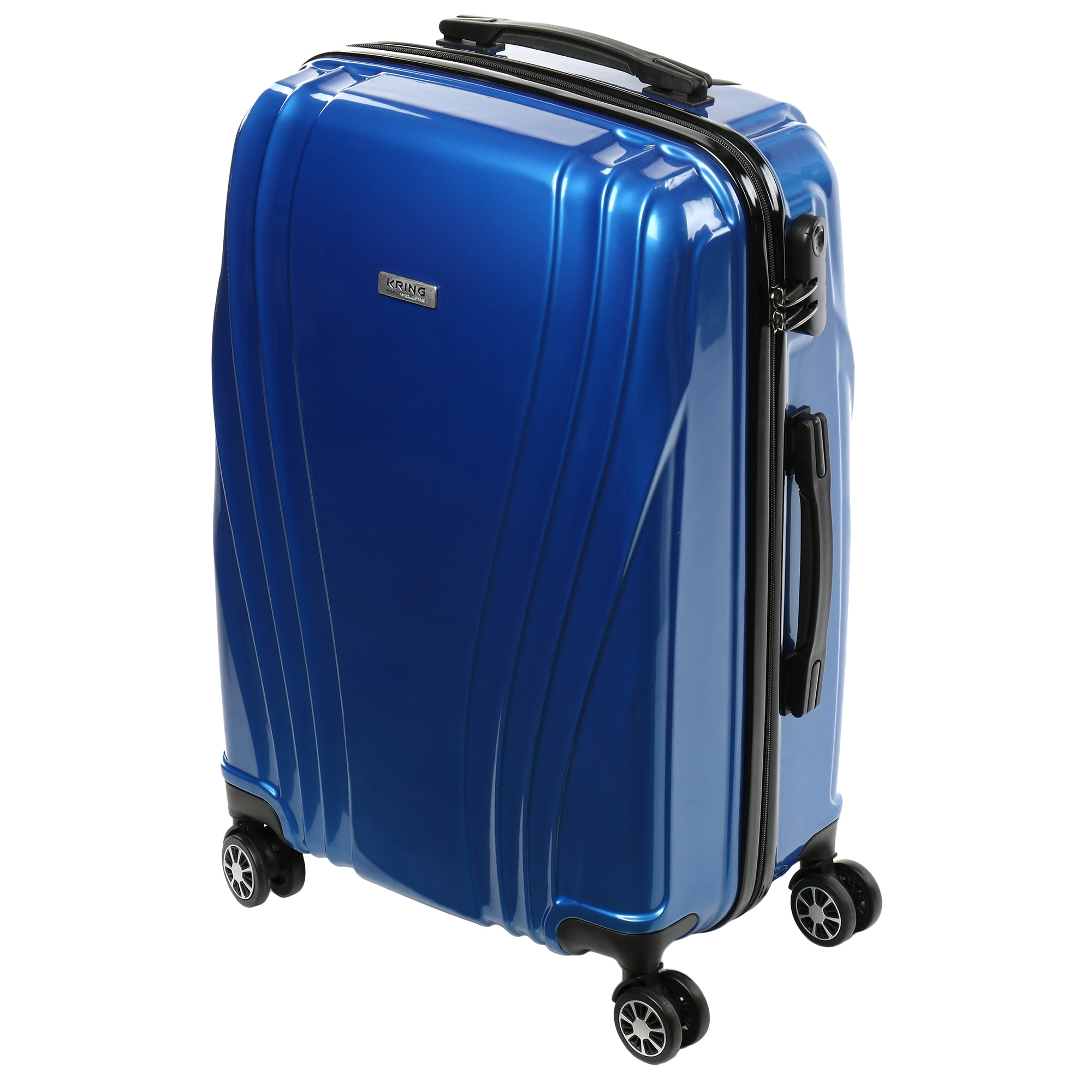 Fotografie Troler Kring JetSet, ABS+PC 75 cm, Blue