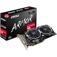 Placa video MSI Radeon RX 580 Armor OC, 8GB DDR5, 256-bit