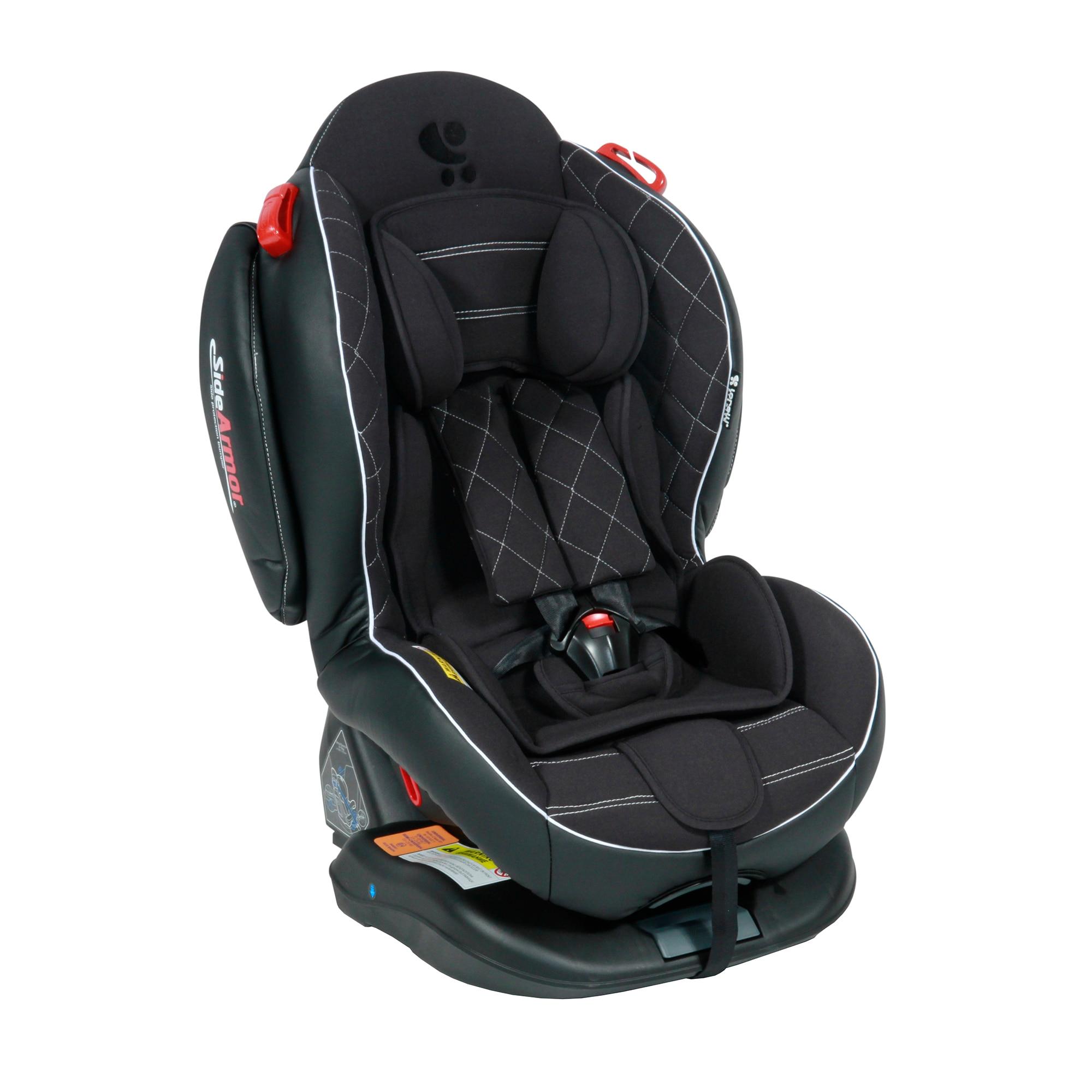 Fotografie Scaun auto, Lorelli Premium, Arthur SPS, Isofix, 0-25 Kg, piele, Black Leather