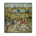 Hieronymus Bosch: A Gyönyörök kertje triptichon, középső panel, vászonkép, 20x20