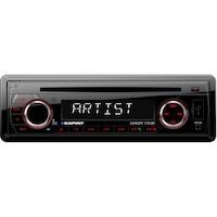 Blaupunkt Cardiff 170BT Bluetooth autóhifi fejegység, 4X40 W, CD, Rádió, USB, SD, Bluetooth, Aux In, Távirányító, RCA, Piros fény