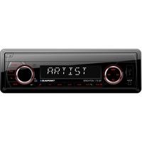 Blaupunkt Brighton 170BT autóhifi fejegység, 4X40W, Bluetooth, SD, USB, MP3, Rádió, Aux In, Távirányító, RCA, Piros fény