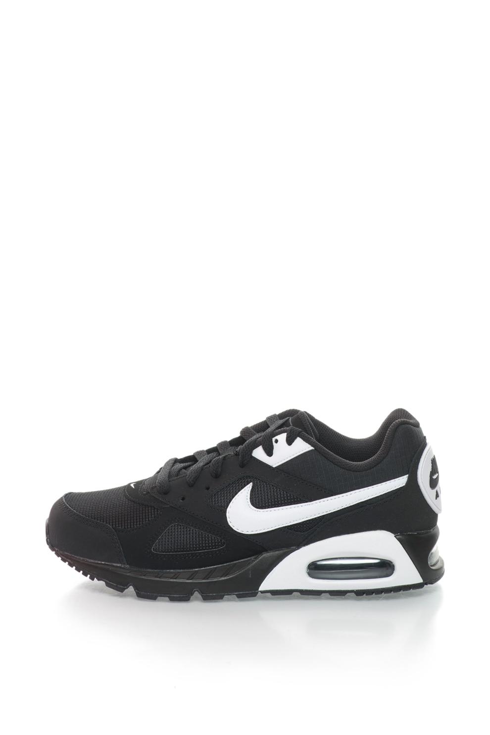 Resentimiento Habitar Él mismo  Nike, Pantofi sport cu garnituri de piele intoarsa Air Max Ivo, Negru, 6 -  eMAG.ro