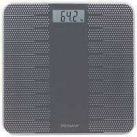 Cantar corporal Medisana PS430 40458, 180 kg, suprafata anti-alunecare, inchidere automata, Negru