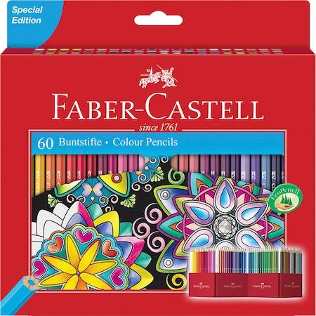 Цветни моливи Faber-Castell, Специално издание, 60 цвята