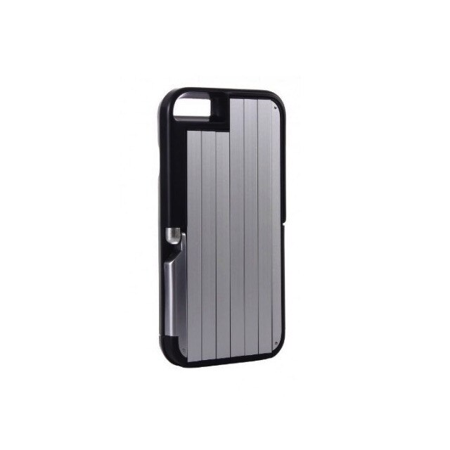 Widjit Carcasa cu selfie stick integrat pentru iPhone 6/6S (Negru) (SD-902_negru)