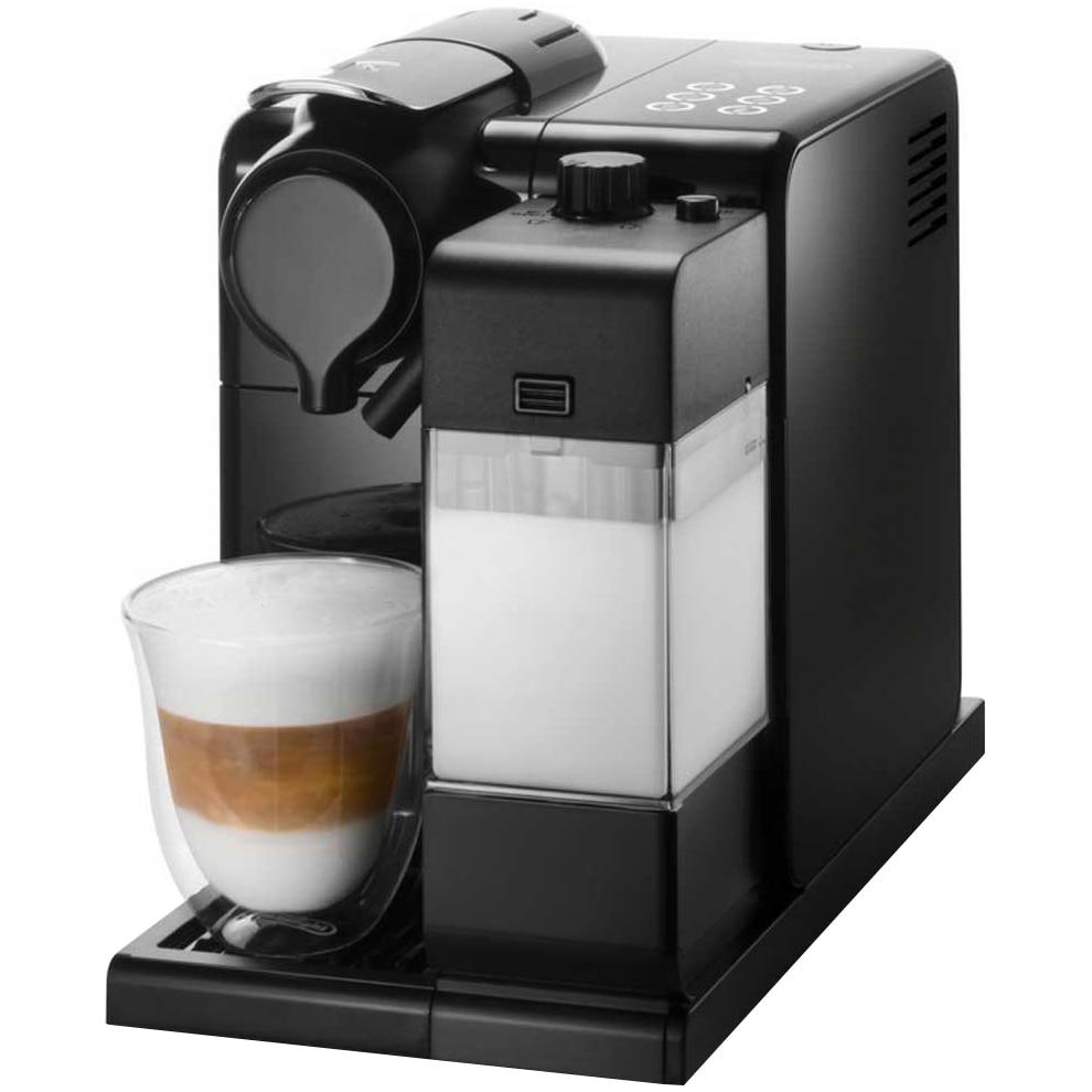 Fotografie Espressor automat De'Longhi Nespresso Lattissima Touch, 1300 W, Capsule, Cappuccino, 6 setari predefinite, Negru