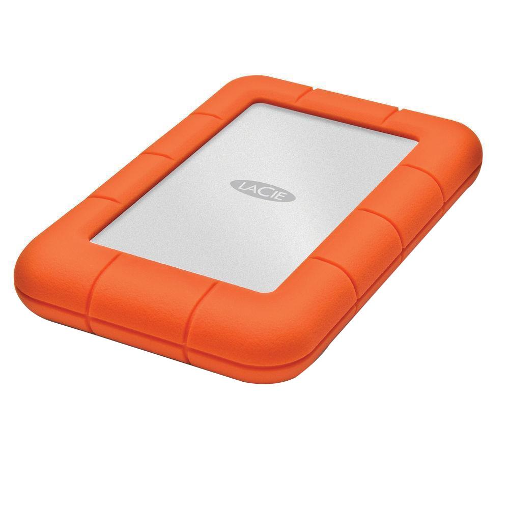 """Fotografie HDD extern LaCie Rugged Mini, 1TB, 2.5"""", USB 3.0"""
