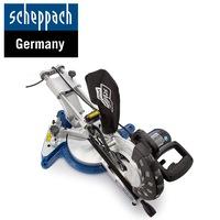 Комбиниран потапящ циркуляр за ъглово рязане Scheppach HM100LXU 2000W, 254мм, 5000 min-1