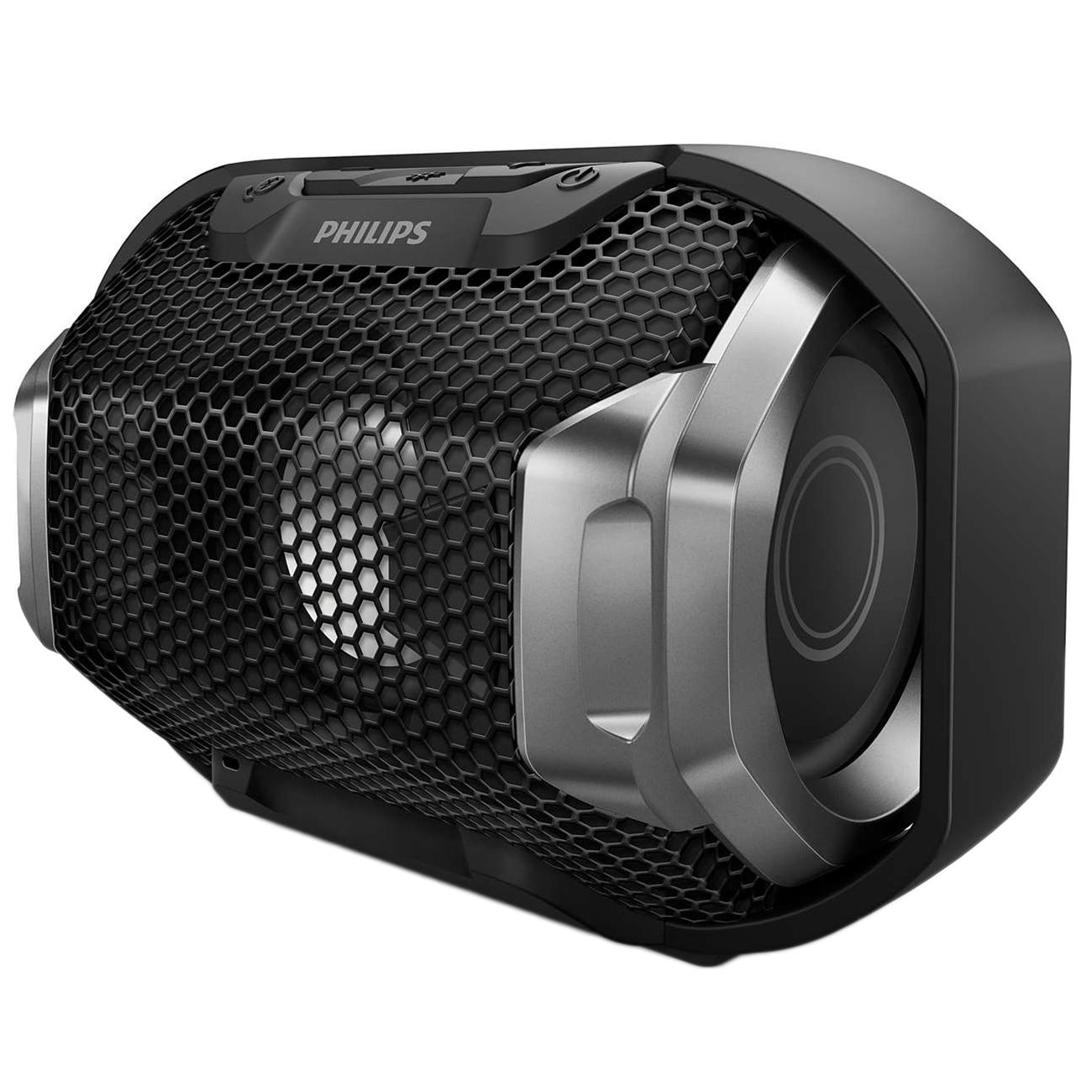 Fotografie Boxa portabila wireless PHILIPS SB300B/00, Bluetooth, Waterproof, 4W, Negru