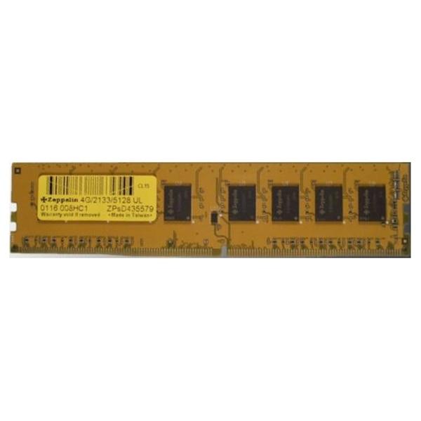 Fotografie Memorie Zeppelin 4GB, DDR4, 2133MHz, CL15