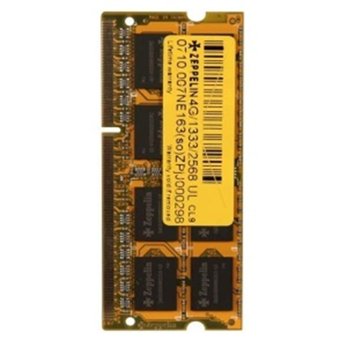 Fotografie Memorie Zeppelin 4GB SODIMM, DDR4, 2133MHz