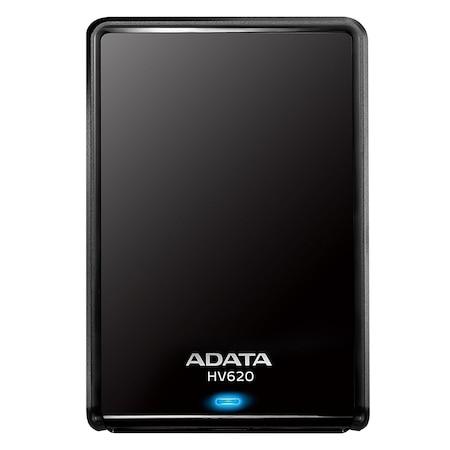 """Външен хард диск ADATA HV620S 1TB, 2.5"""", USB 3.1, Черен"""