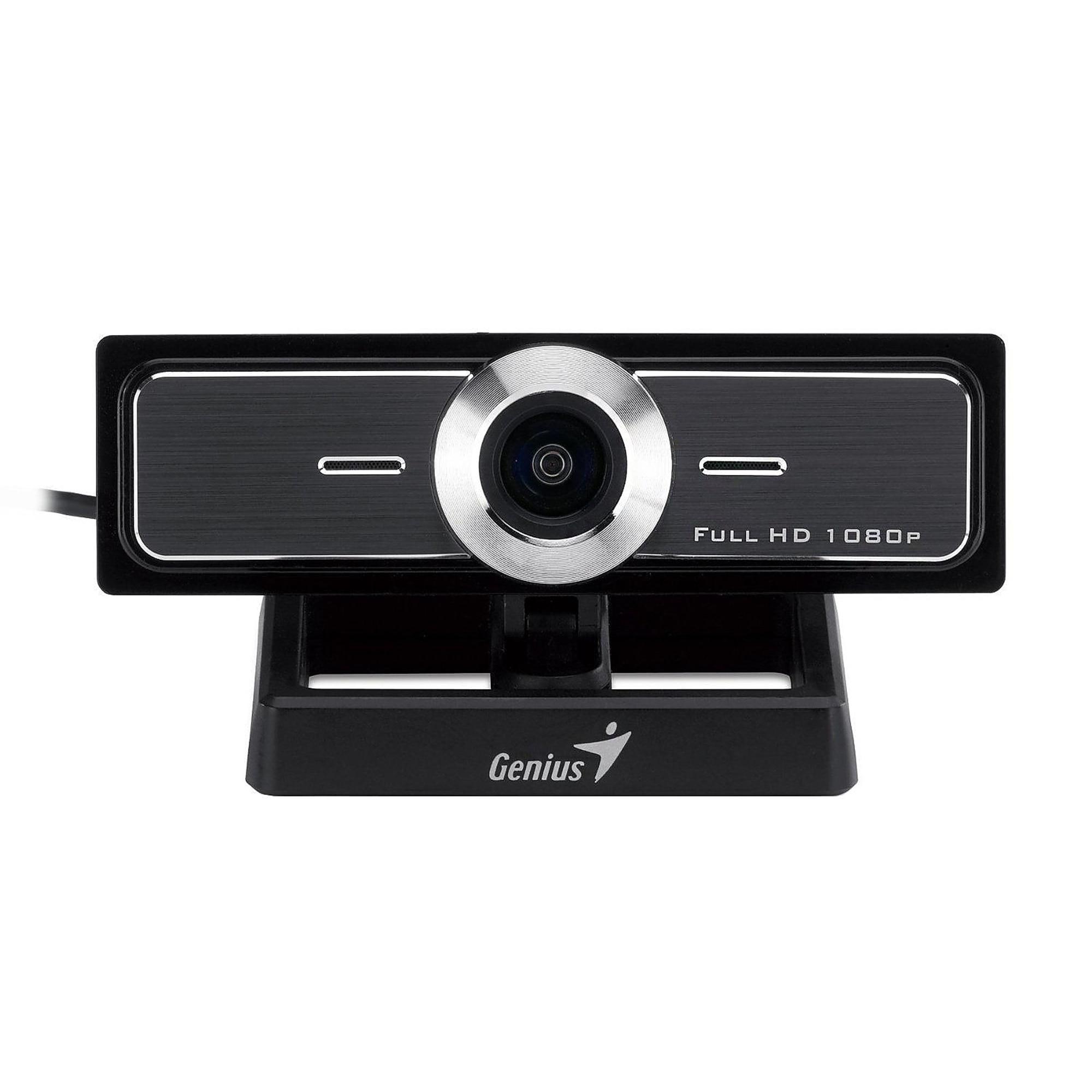 Fotografie Camera Web Genius WideCam F100, Full HD, Negru