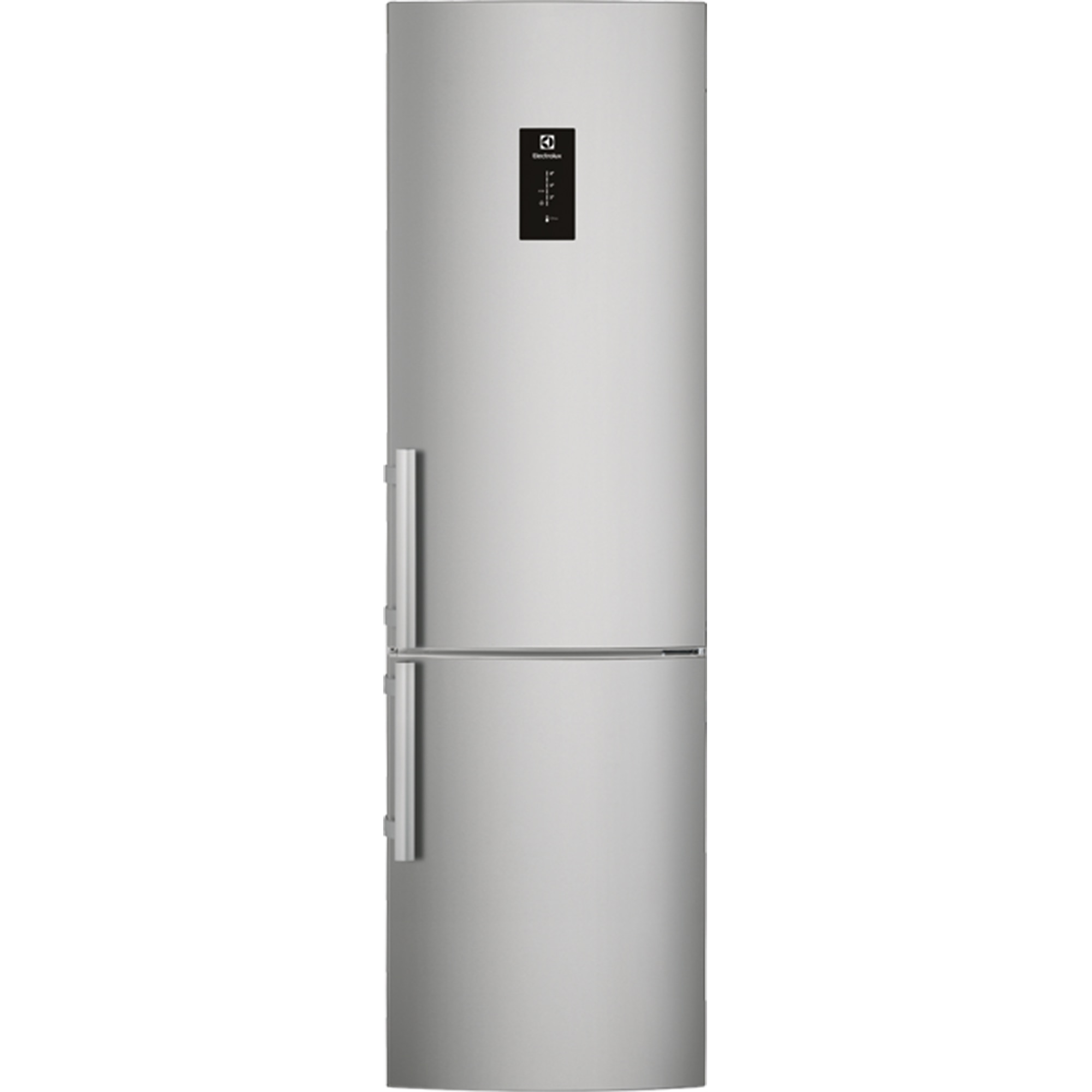 Fotografie Combina frigorifica ELECTROLUX EN3790MFX, 334 l,Clasa A++, No frost, Display LCD, H 200 cm, Inox antiamprenta