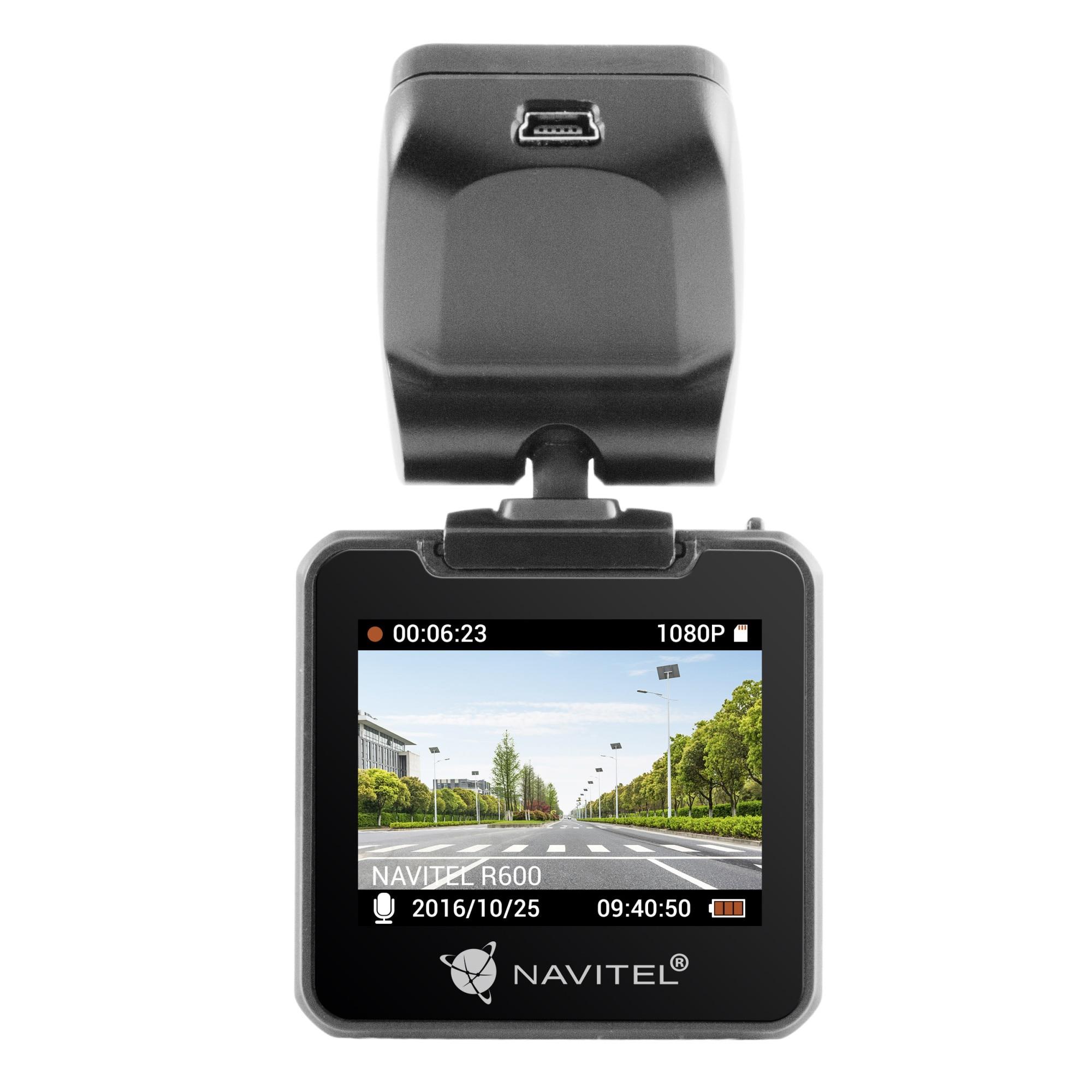 "Fotografie Camera Auto DVR Navitel R600, ecran 2.0"" inregistrare FHD/30fps, vizibilitate 170°, G-Sensor, Senzor Sony 323 de 12 Megapixeli"