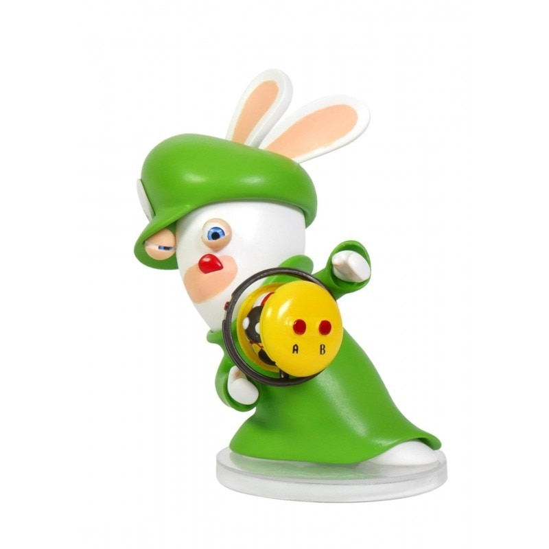 """Fotografie Mario Figurine + Rabbids Kingdom Battle Rabbid Luigi 6 """""""