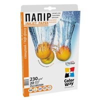 ColorWay PG230020A4 magasfényű (high glossy), 230 g/m2, A4, 20 lap Fotópapír