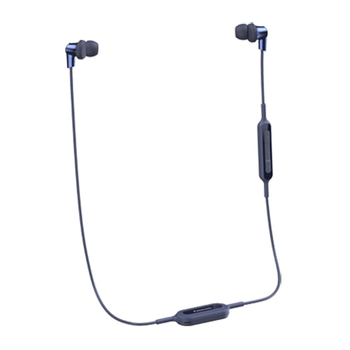 Fotografie Casti in-ear Panasonic RP-NJ300BE-A, Wireless, Albastru