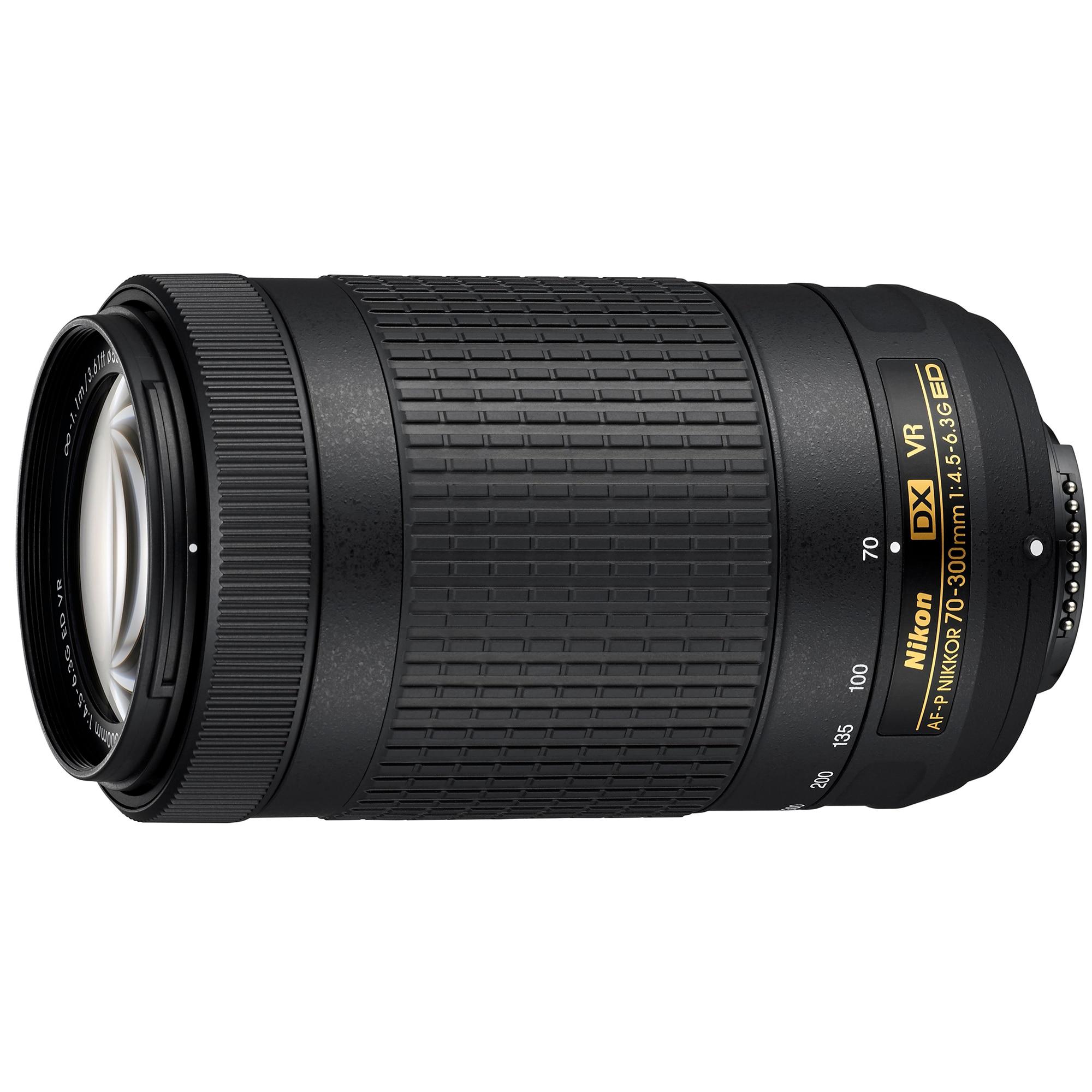 Fotografie Obiectiv Nikon 70-300mm f/4.5-6.3G ED VR AF-P DX
