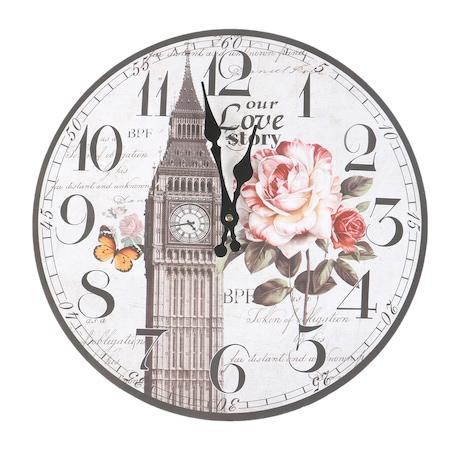 Стенен часовник Kring, Love Story, 34 см