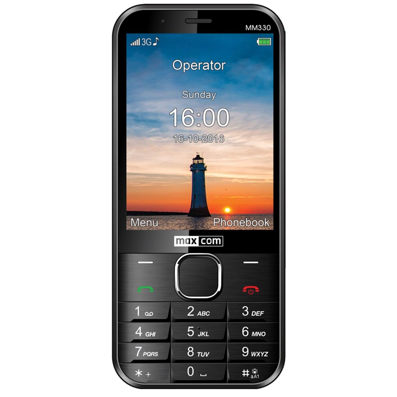 Fotografie Telefon mobil MaxCom Classic MM330, Black
