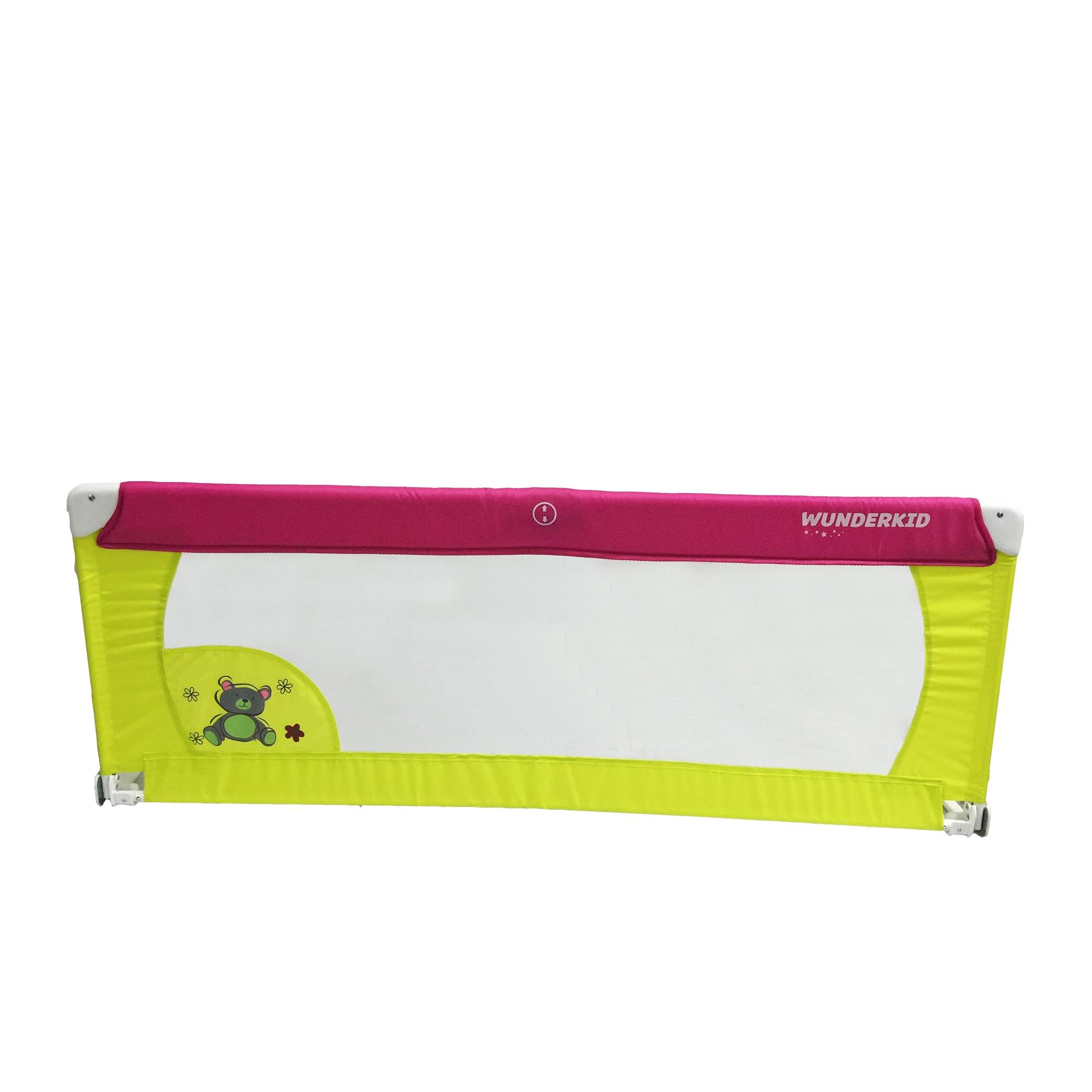 Fotografie Bariera de protectie pentru pat, Wunderkid, Multicolor