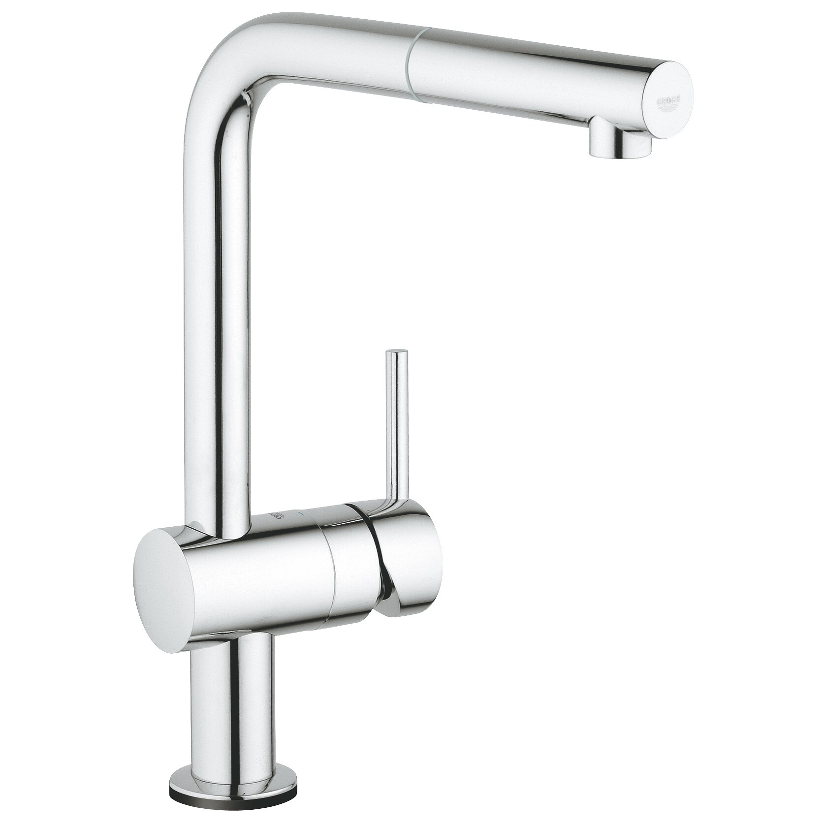 Fotografie Baterie bucatarie Grohe Minta Touch, pipa L,