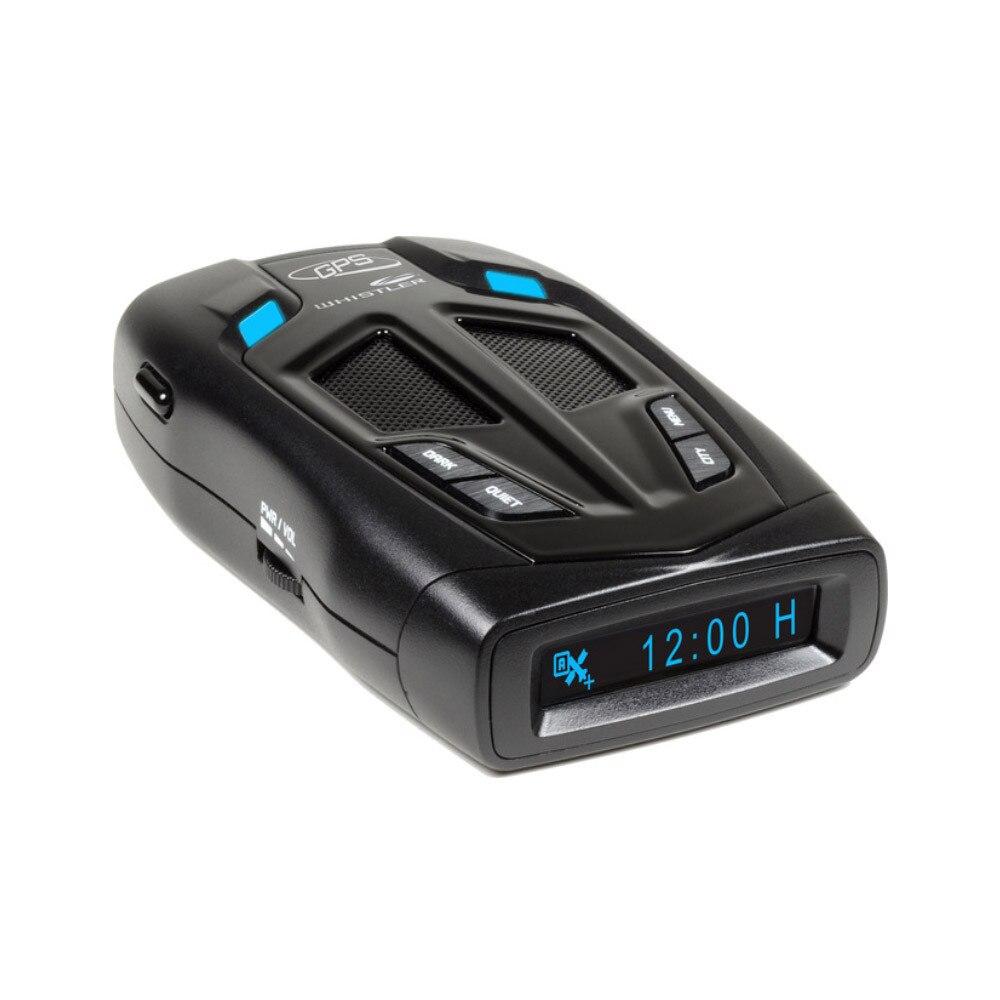 Fotografie Detector de radar Whistler GT-468GXI, detectie benzi X K KA, Laser 360, POP, benzi de detectie selectabile, functie de prioritizare alerte, GPS intern, detectare VG-2