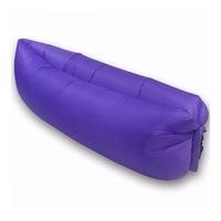 Lazy Bag - pumpa nélküli felfújható matrac, kék
