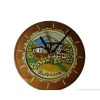 Часовник с дърворезба стари къщи Орешак