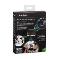 """Vezeték nélküli USB és memóriakártya olvasó, hordozható akkumulátor, VERBATIM """"MediaShare Wireless"""""""